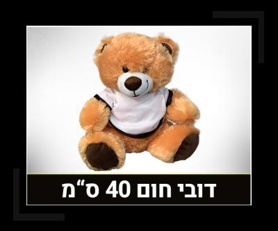 דובי חום 40