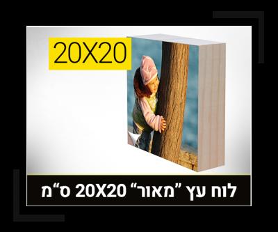 לוח עץ מאור 20-20